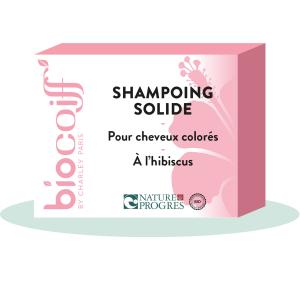 shampoing solide hibiscus cheveux colorés