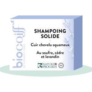 shampoing solide bio cuir chevelu squameux